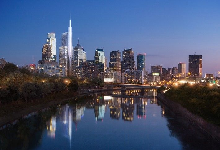 7. Comcast Innovation and Technology Center, Philadelphia