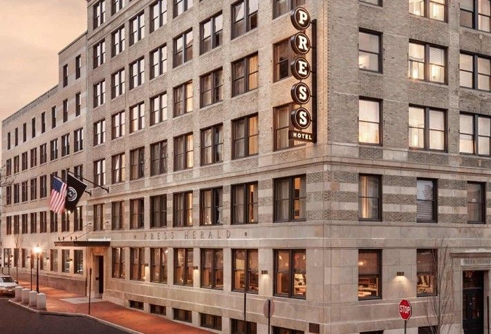 5. The Press Hotel - Portland, ME