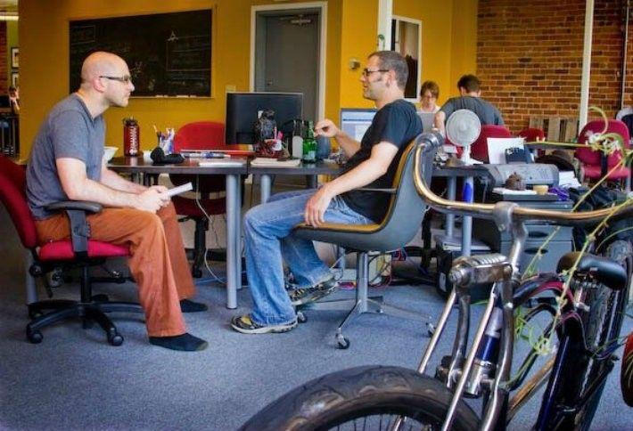 1. Office Nomads