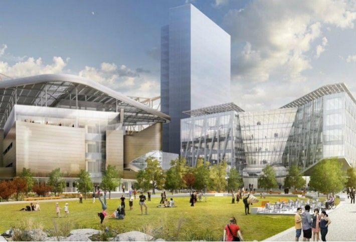 4. Cornell Tech's Futuristic NYC Campus