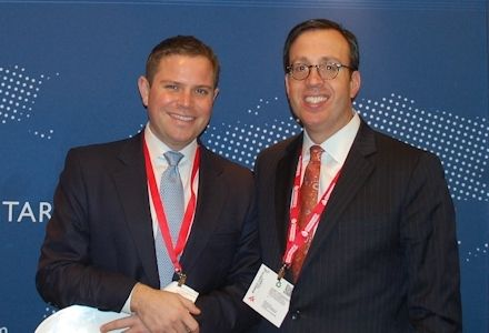 On the Floor at ICSC in New York
