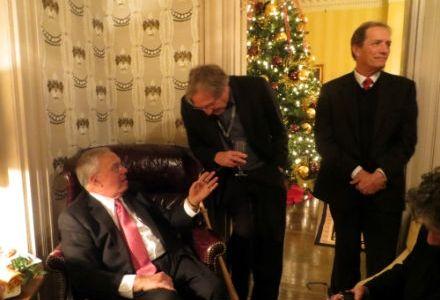 Menino's Christmas Fete