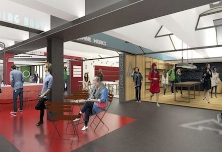 What Columbus Circle's Subway Retail Will Look Like