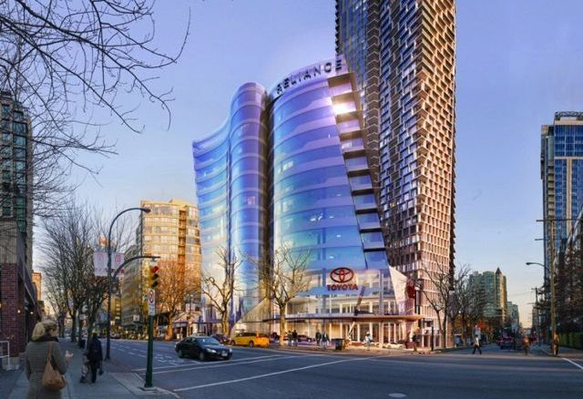 Thumbs Up For Burrard Gateway Project