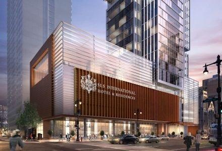 PHILADELPHIA: Dranoff and Nazarian Unveil New Hotel
