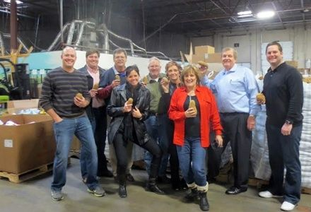 TIG, Colliers, & UCR Give to Great Causes