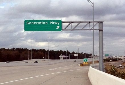 Generation Park is on the Map
