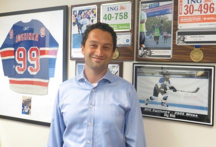 Matthew Baron, 38, President, Simon Baron Development