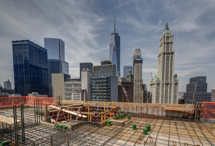 NYC: Pace University Dorm Tops Out