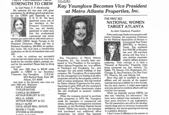 Power Women: Kay Younglove