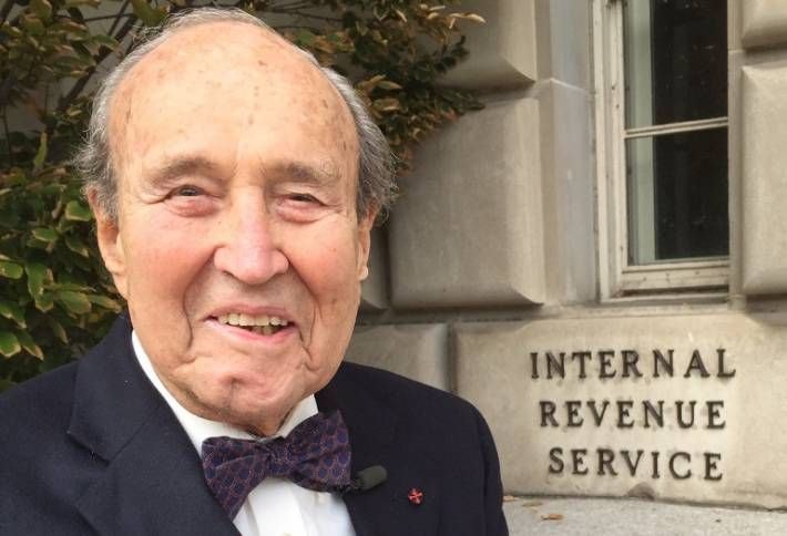 America's Beloved Taxman, at 98