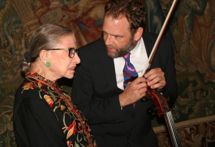 Yesterday with Ginsburg