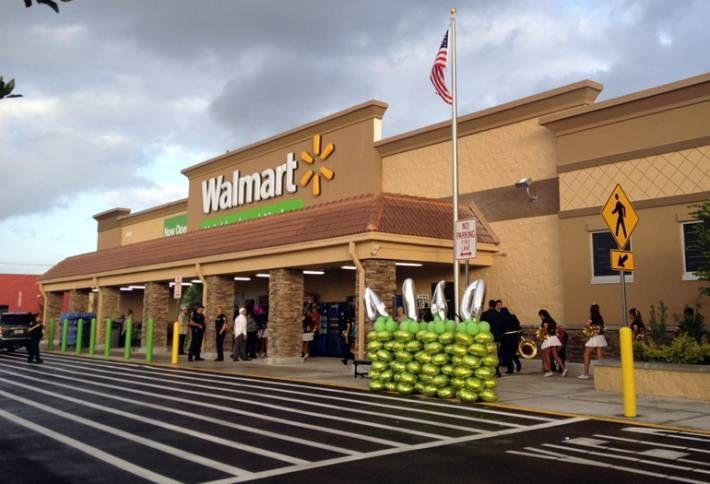 First Walmart for Miami