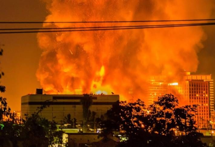 Da Vinci Fire Forces Massive Relocation