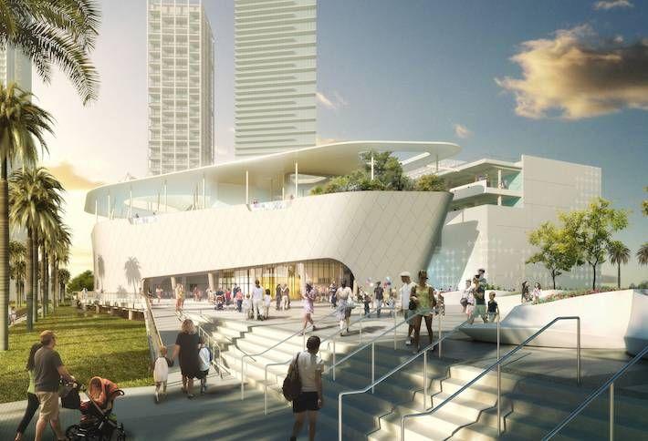 Skanska Building $101M Miami Science Museum (Sharks Included)