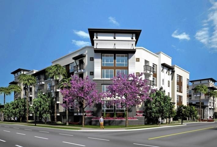 New Apartments Under Way in Platinum Triangle