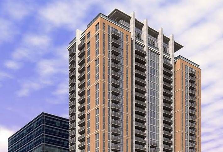 25-Story Square on Fifth Student Housing Project Tops Out