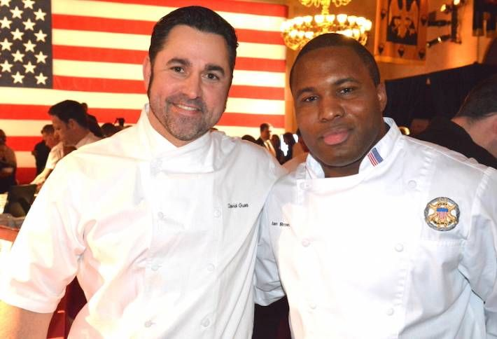 DC and Military Chefs Cook Together