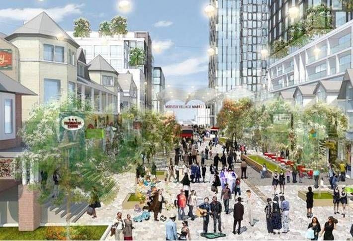 Honest Ed's Redevelopment Plan Goes Big on Rental