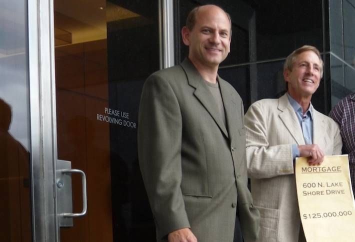 Belgravia Group CEO Alan Lev and founder Buzz Ruttenberg
