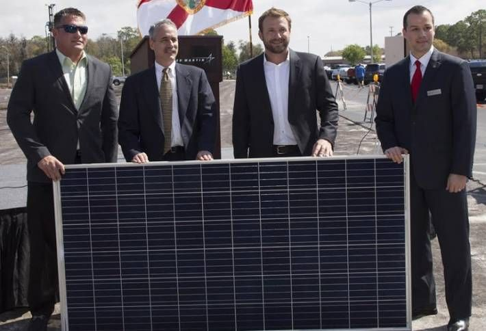 Florida's Largest Private Solar Project Underway