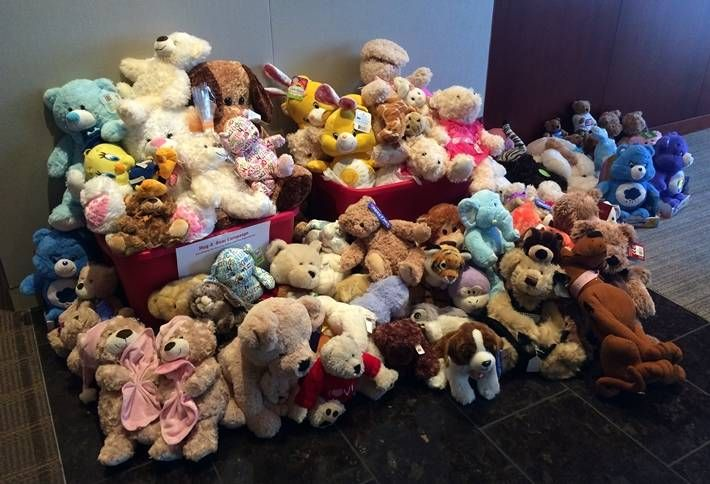 CBRE's Snuggly Charity