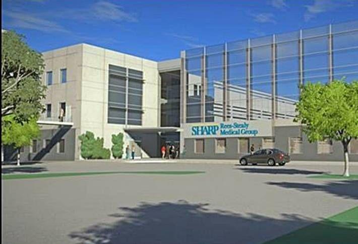 Sharp Converting Rancho Bernardo Retail to Healthcare
