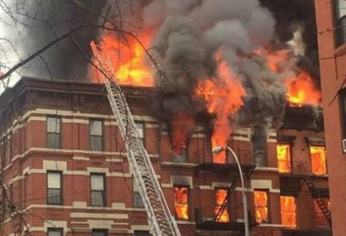 East Village Building Explodes