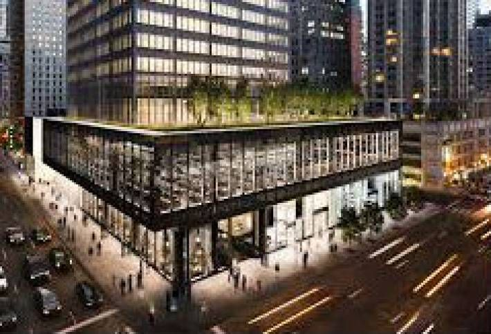 Pershing Square Near a Deal for Lease at 250 West 55th
