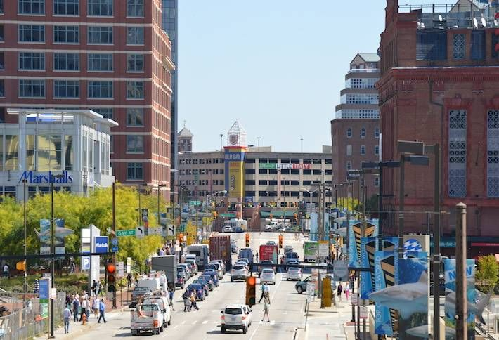 Downtown Baltimore Adds Jobs