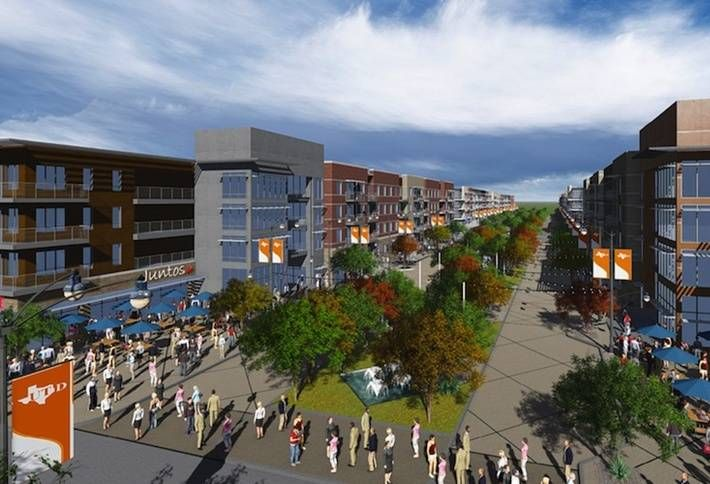 UTD Starts $54M Mixed-Use Student Housing Project