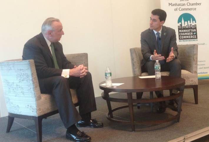 What You Don't Know About Manhattan Chamber Chairman Ken Biberaj