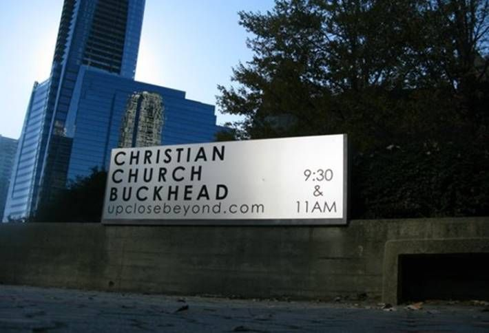 Related Project Could Raze Stone Buckhead Church