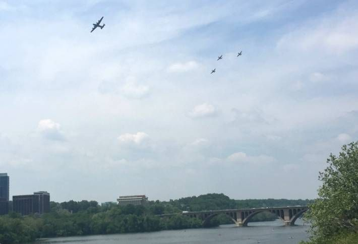 Interesting Facts About Those WWII Warbirds Over DC