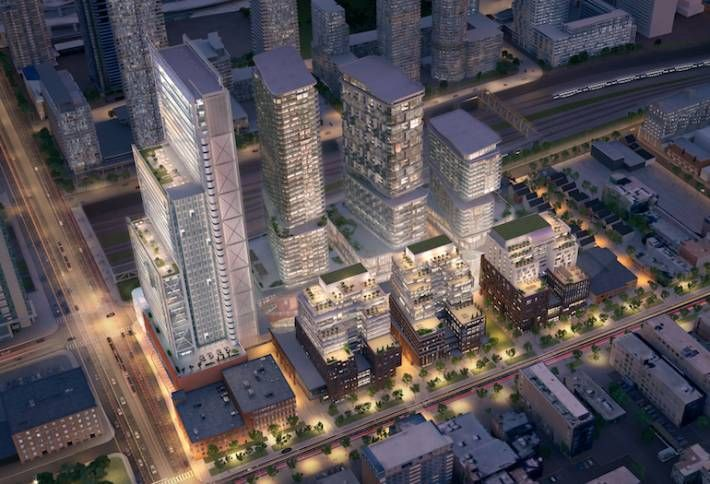 The Well mixed-use development