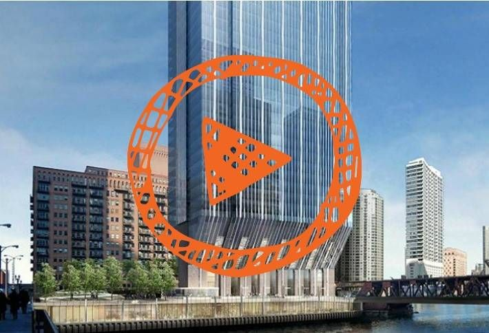 These 4 Buildings are the Future of Chicago's Riverwalk