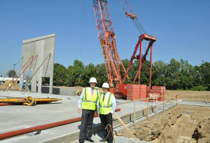 North Hills Build-to-Suit Nears Completion