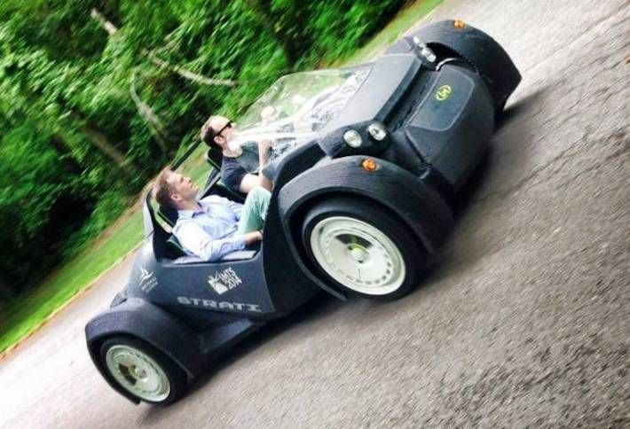 Company Behind First 3D Printed Car Comes To Crystal City