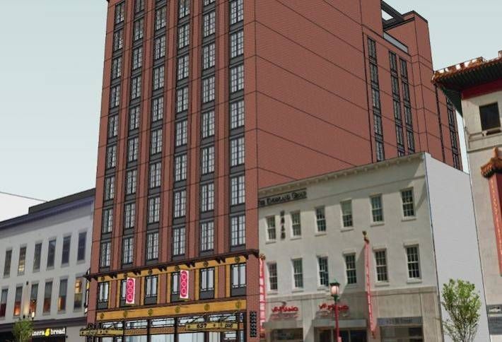 Microhotel POD DC Breaks Ground in Chinatown
