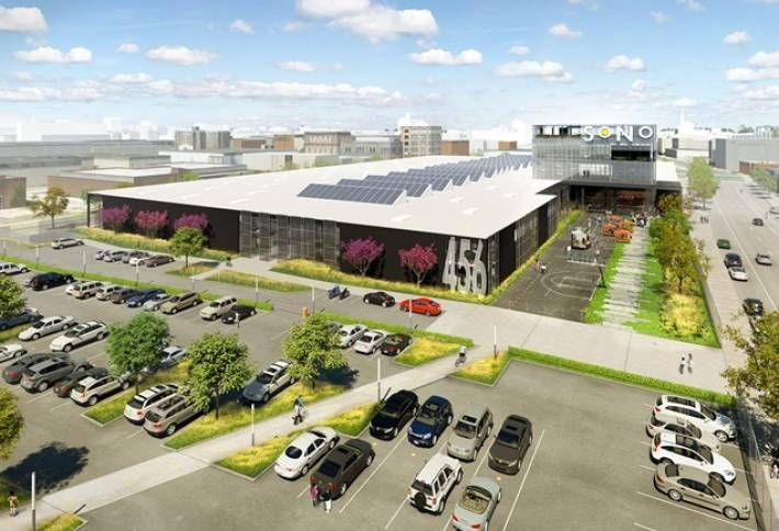 Old Warehouse to be Cutting-Edge Creative Office
