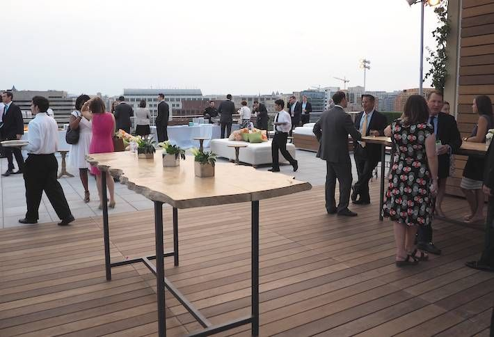 DTZ Unveils Jersey Ave Rooftop