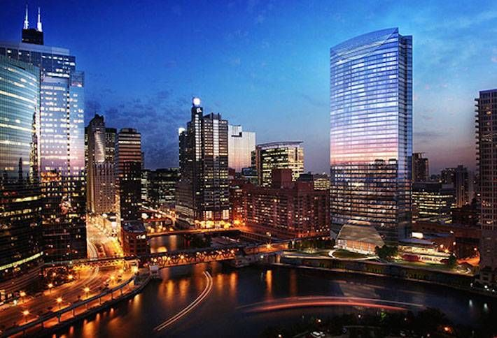 Morton Salt Signs 16-Year River Point Lease