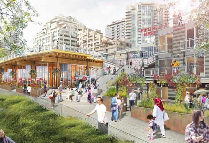Pike Place Expansion Breaks Ground