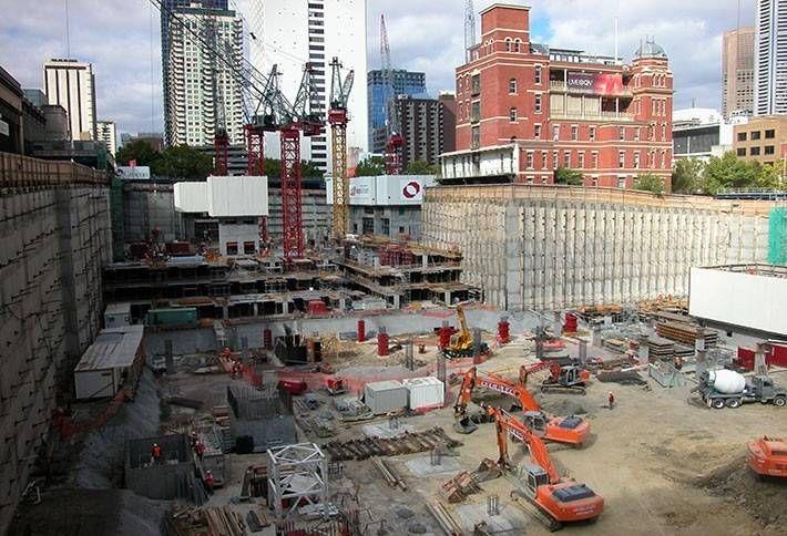 US Construction Spending Highest Since 2008