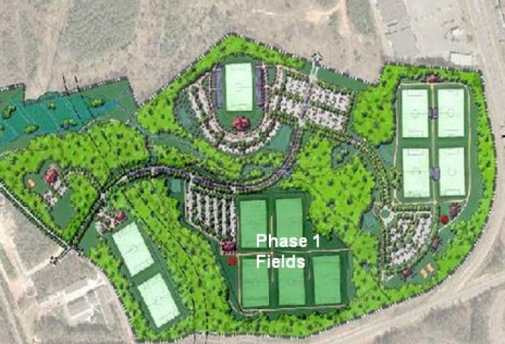 Matthew Sports Complex Phase 2 Kicks Off