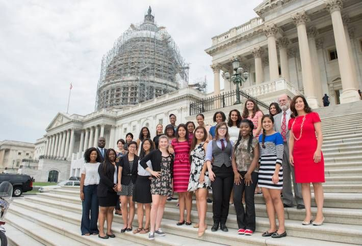 High School Coders Head To The Hill