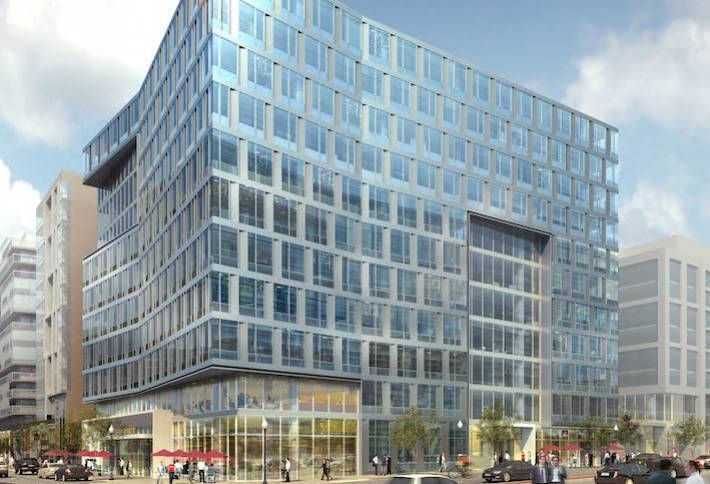 Skanska Banks on Capitol Riverfront with Class-A Spec Office Building