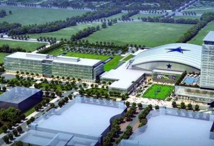 The Star in Frisco; Cowboys world HQ