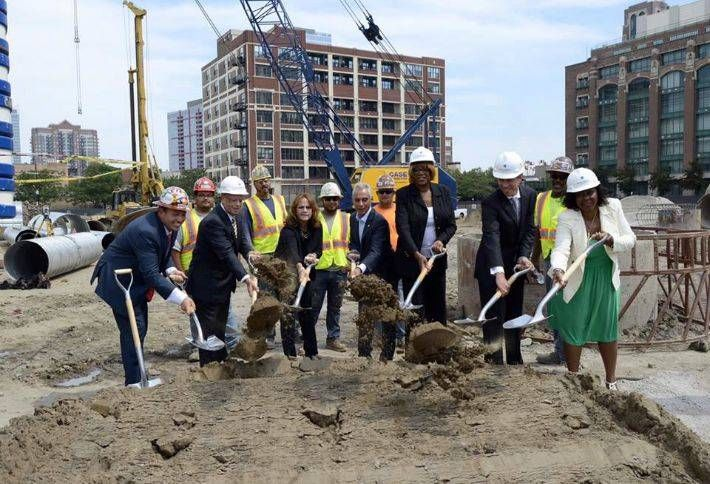Construction of McCormick Place's New $390M Hotel Is Underway