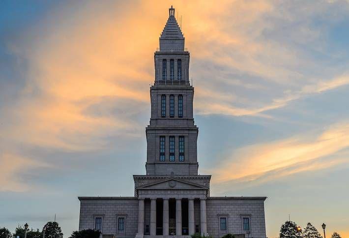 Alexandria Masonic Tower Named a National Landmark